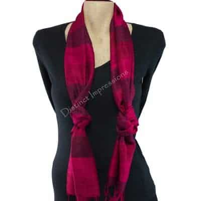 Double Knot scarf style